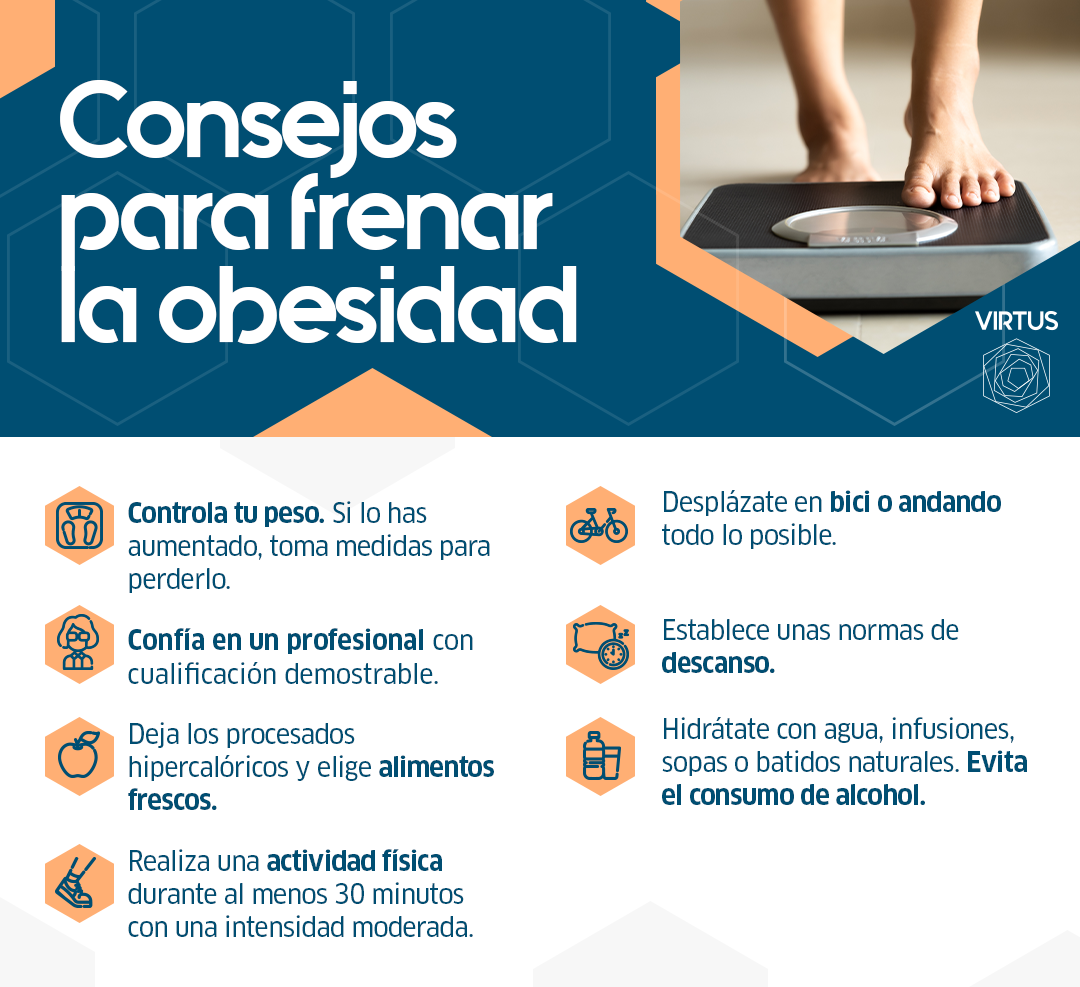 Consejos para frenar la obesidad